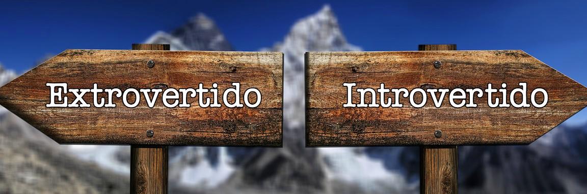 extrovertido introvertido